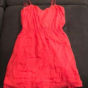 NWT Size L coral J. Crew dress